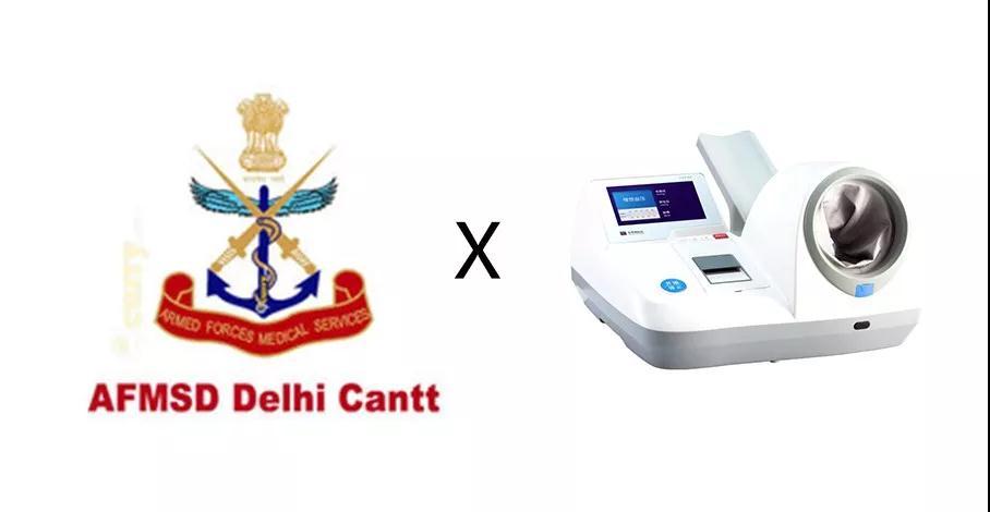 东华原血压仪中标印度国防部医疗中心采购项目